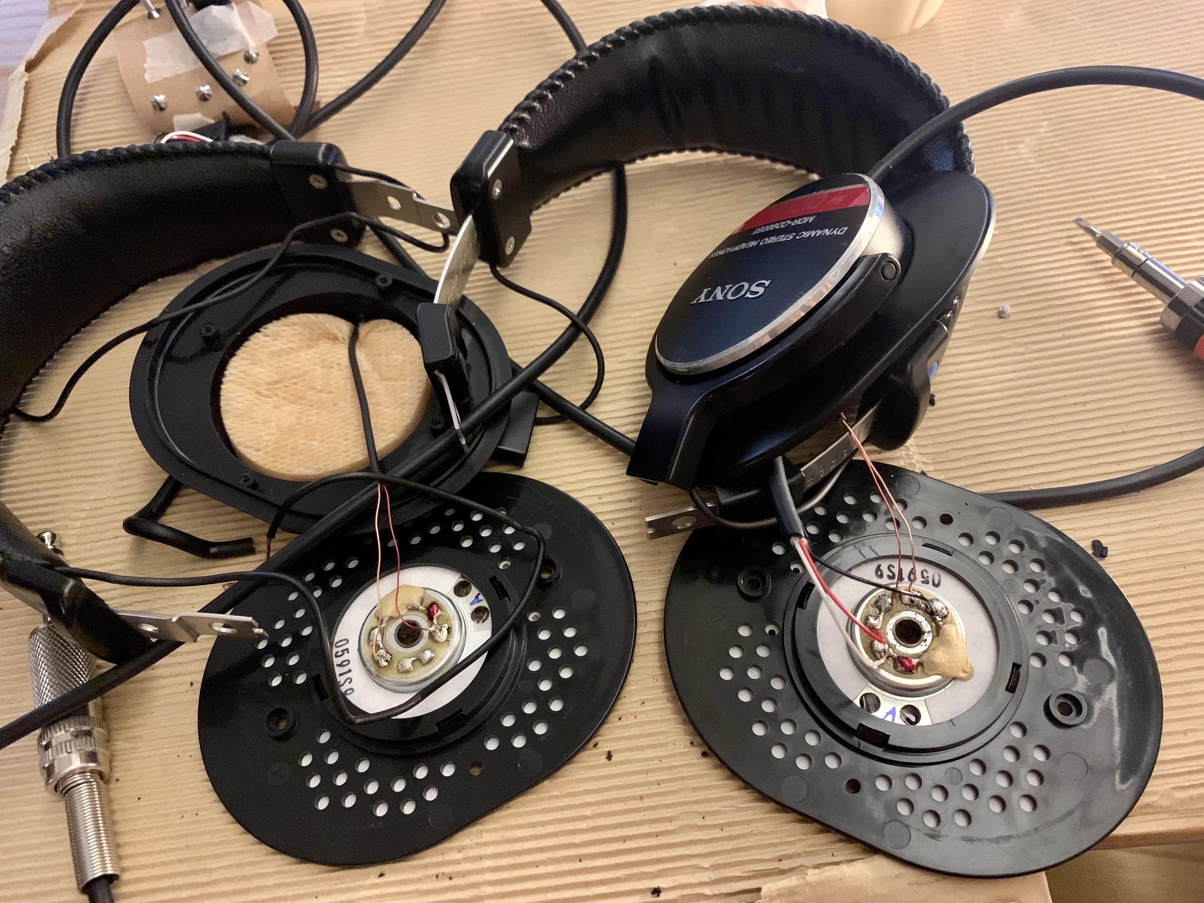 【素人が挑む】続・片耳音が出なくなったMDR-CD900STのケーブルを交換する!